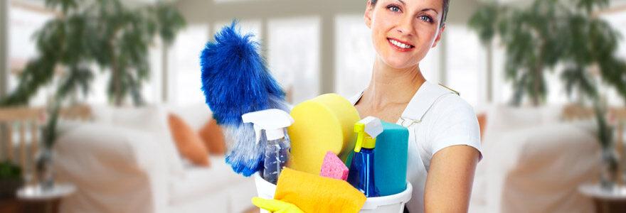 femme de ménage à domicile